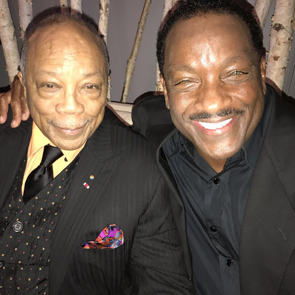 Donnie with Quincy Jones