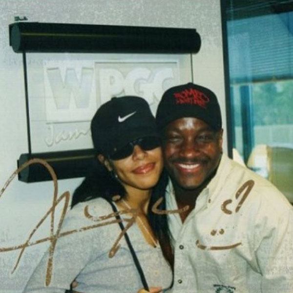 Donnie with Aaliyah