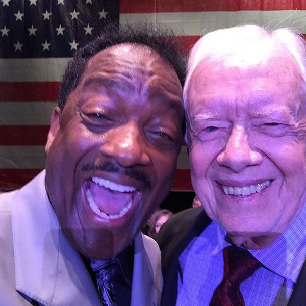 Donnie with Former President Carter