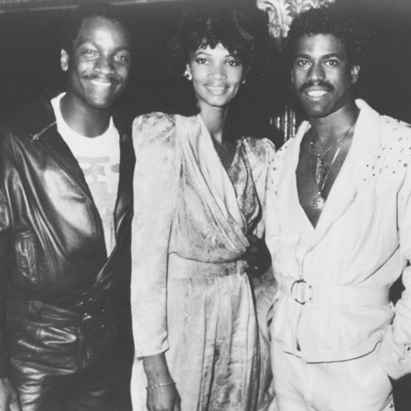 Donnie with Kurtis Blow and wife, Pam.