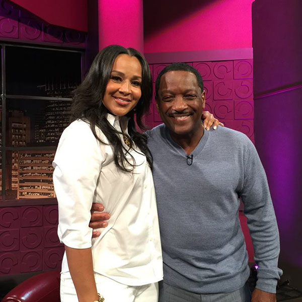 Donnie Simpson with Lisa Raye on Donnie After Dark