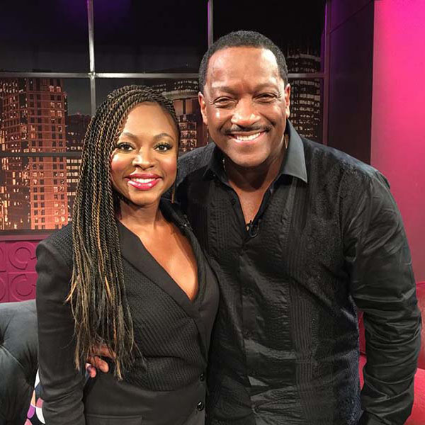 Donnie Simpson with Naturi Naughton on Donnie After Dark