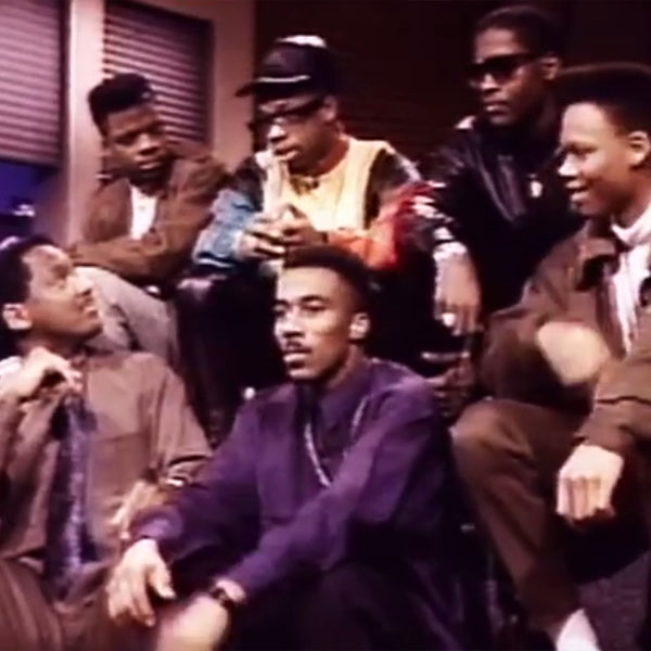 Donnie Simpson interviews New Edition on Video Soul in 1989